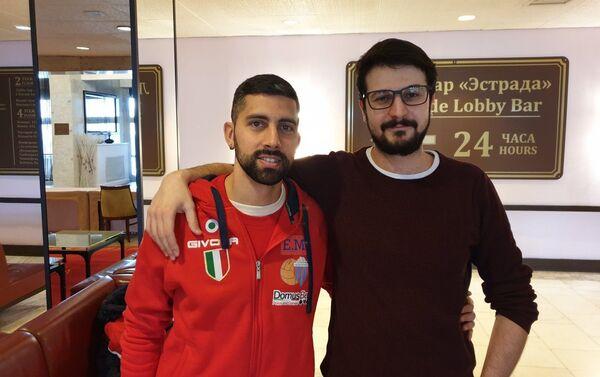 Emmanuele Zurlo e Alessandro Naselli - Sputnik Italia