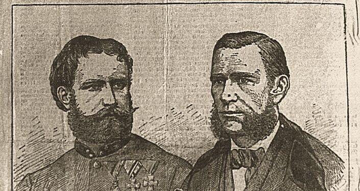 Payer e Weyprecht, giornale dell'epoca