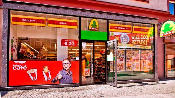 Un negozio in Polonia - Sputnik Italia
