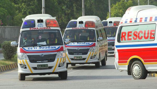 Ambulanza al Campo base nei pressi del monte Nanga Parbat, Pakistan. - Sputnik Italia