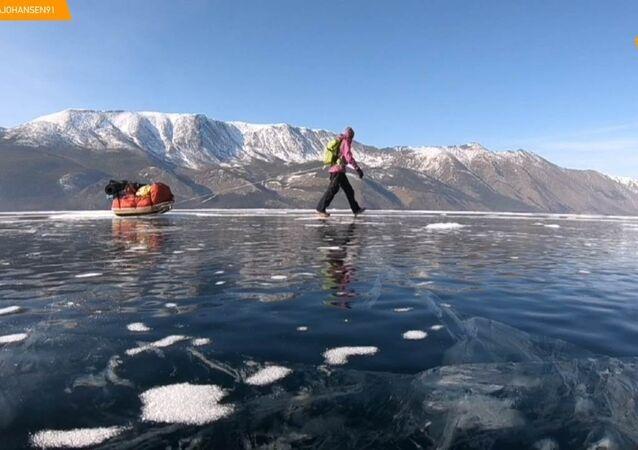 700km sul ghiaccio del Bajkal per uscire dalla propria comfort zone.