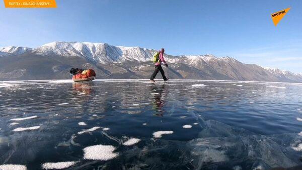 700km sul ghiaccio del Bajkal per uscire dalla propria comfort zone. - Sputnik Italia