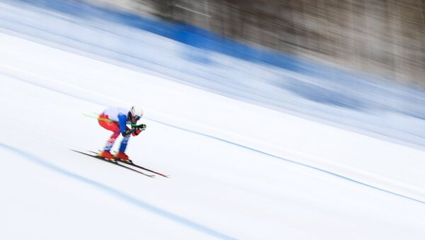 Uno sciatore alle Universiadi Invernali a Krasnoyarsk - Sputnik Italia