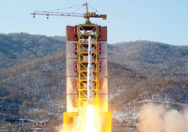 La piattaforma di lancio di Sohae