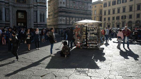 Piazza del Duomo di Firenze - Sputnik Italia