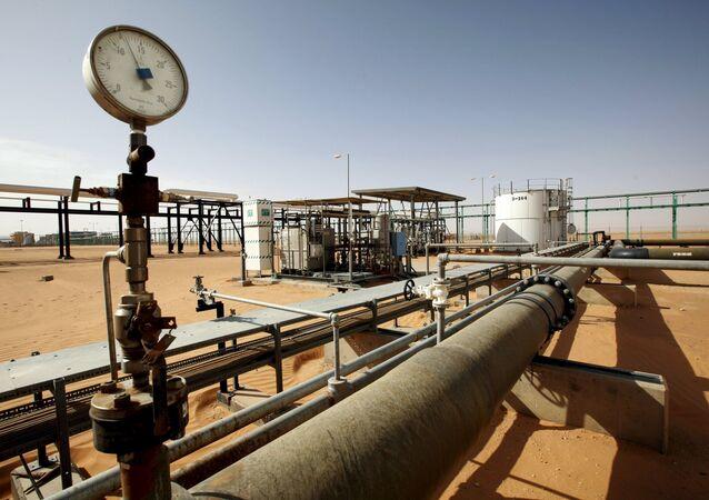 L'impianto petrolifero di Al Sharara, Libia (foto d'archivio)