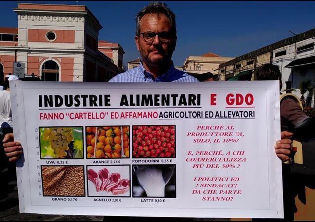 Proteste agricoltori in Sicilia