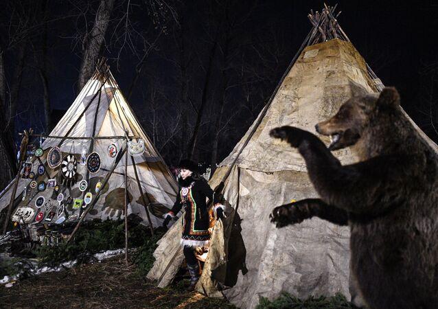 Il villaggio etnico di Krasnoyarsk 2019