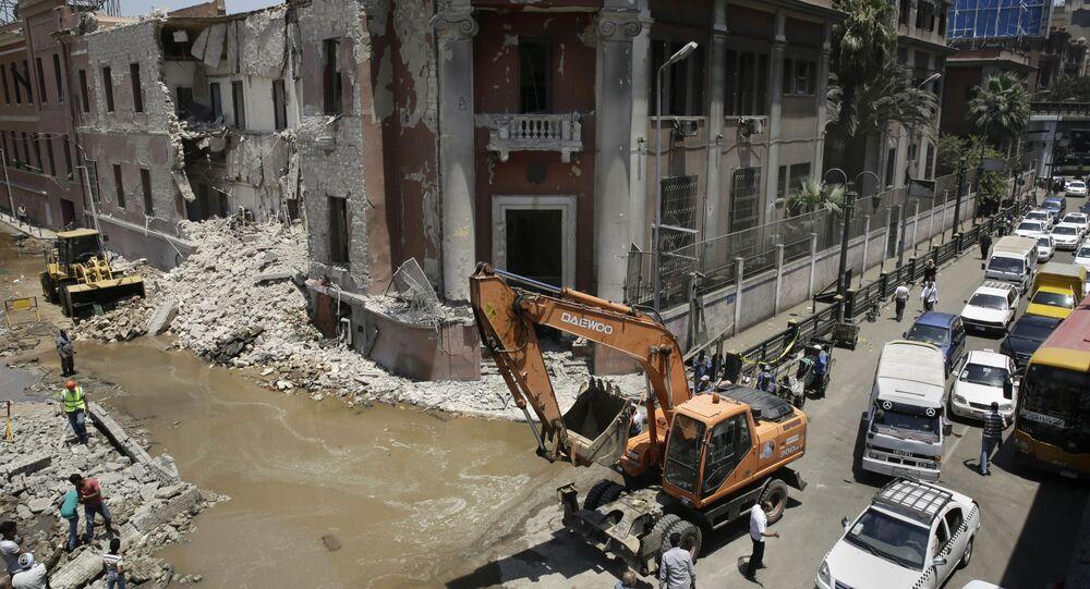 I 250 chilogrammi di tritolo erano usati per fare esplodere la sede del Consolato italiano della capitale egiziana