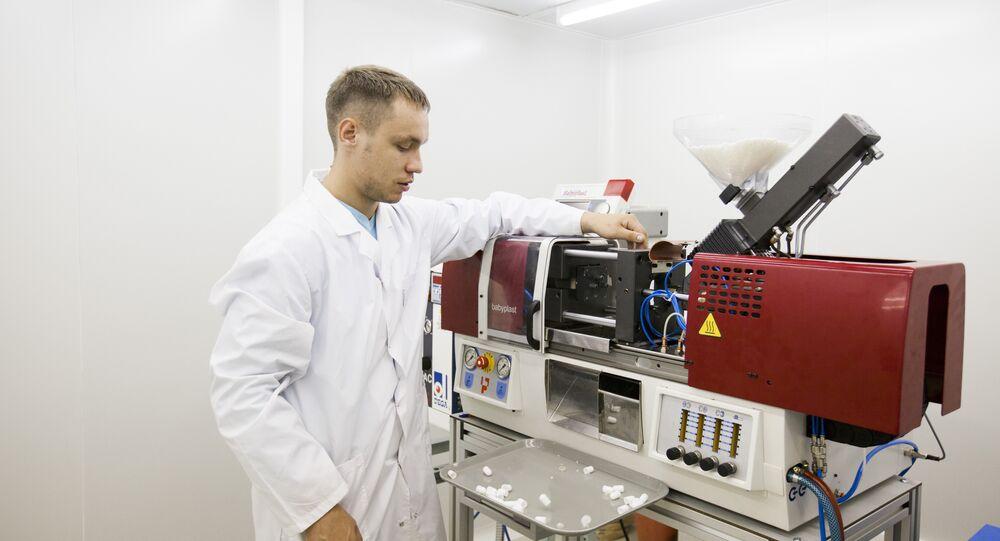 Un ricercatore al lavoro al centro di ricerca MIFI di Mosca