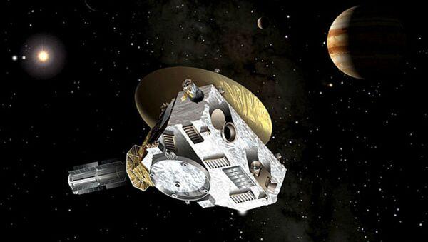 Data storica per la navigazione spaziale con l'arrivo della sonda New Horizons in prossimità di uno dei pianeti più misteriosi del sistema solare, Plutone - Sputnik Italia