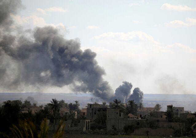 Bombardamento in Siria