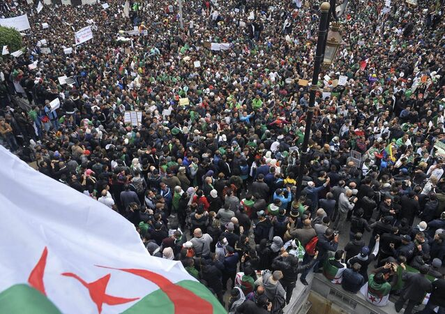 Proteste in Algeria