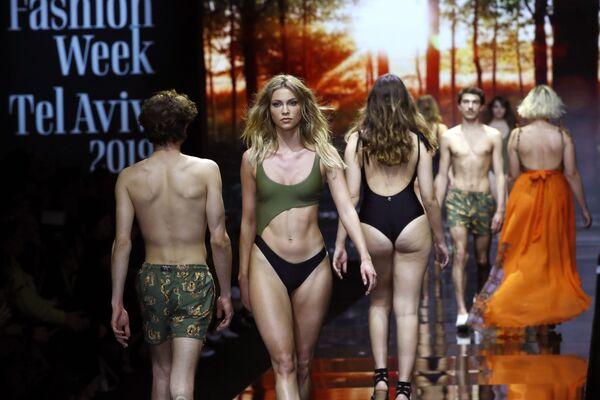 Come superare la prova costume alla Tel Aviv Fashion Week - Sputnik Italia