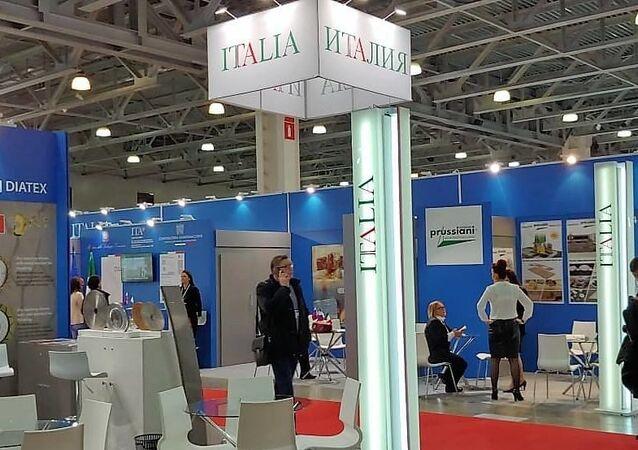 Il padiglione italiano a BATIMAT 2019