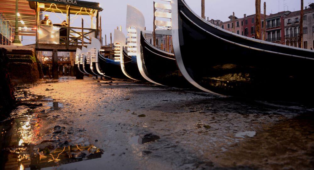 Siccità a Venezia