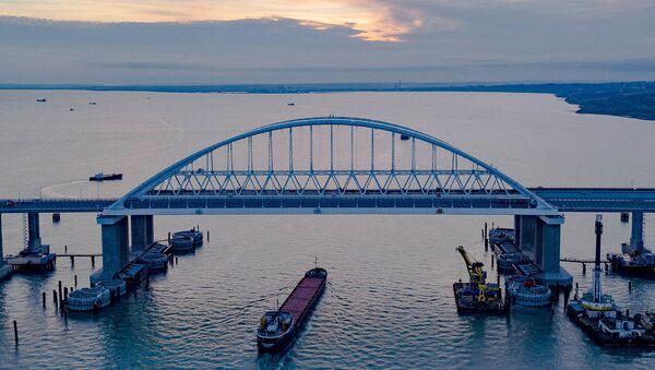 Il ponte della Crimea - Sputnik Italia