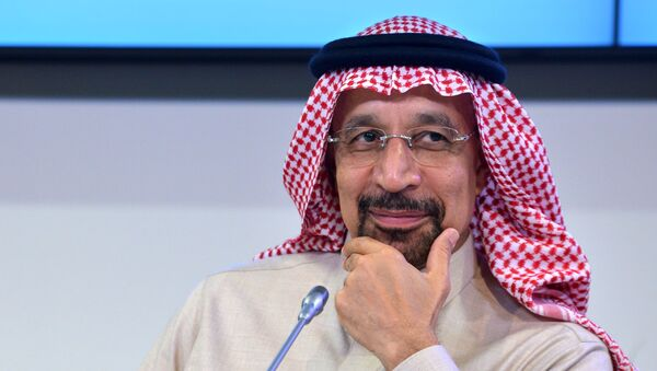 Ministro dell'energia saudita Khalid Al-Falih - Sputnik Italia