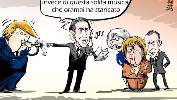 Non si può suonare solo la TRUMP - Sputnik Italia