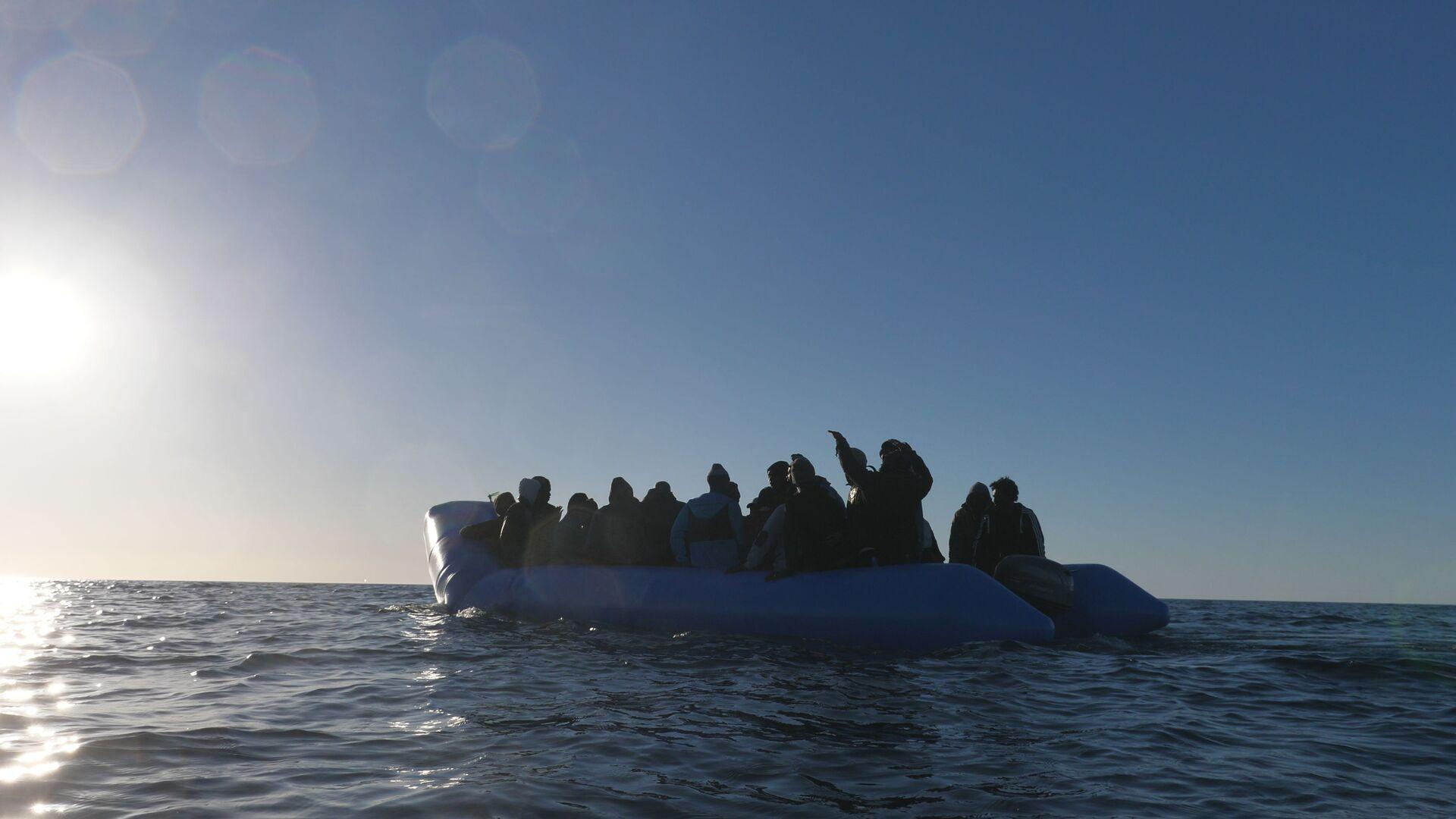 Migranti dalla Mare Jonio - Sputnik Italia, 1920, 03.06.2021