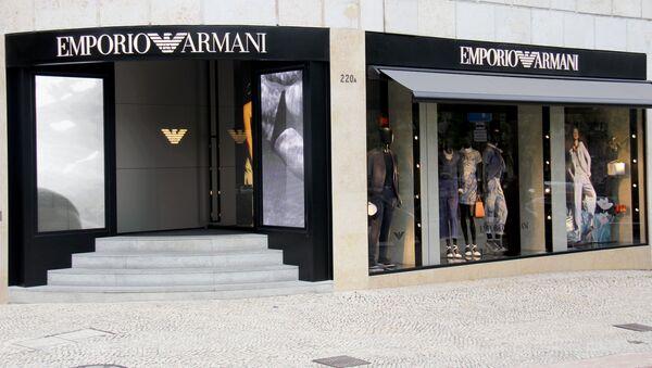 Il negozio Emporio Armani - Sputnik Italia