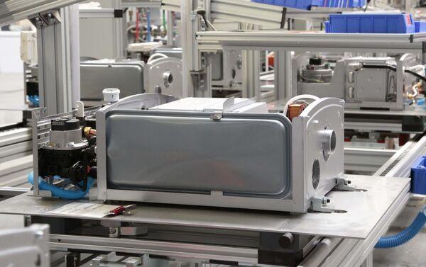 Produzione di caldaie a Lipetsk - Sputnik Italia