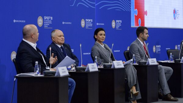 Imprenditori al Forum Economico di San Pietroburgo - Sputnik Italia