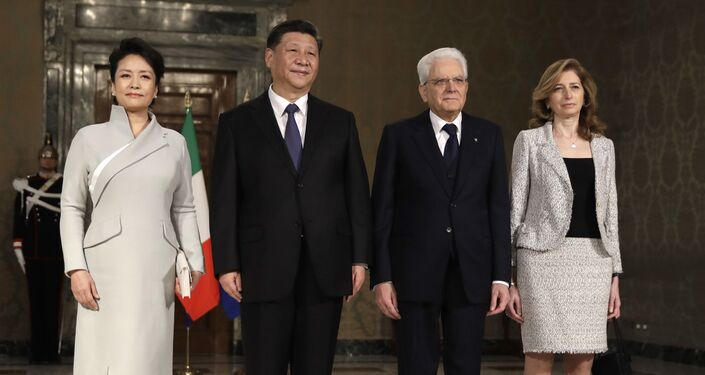 Incontro tra Xi Jinping e Sergio Mattarella a Roma