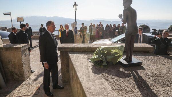 Il ministro degli Esteri russo in visita in San Marino - Sputnik Italia