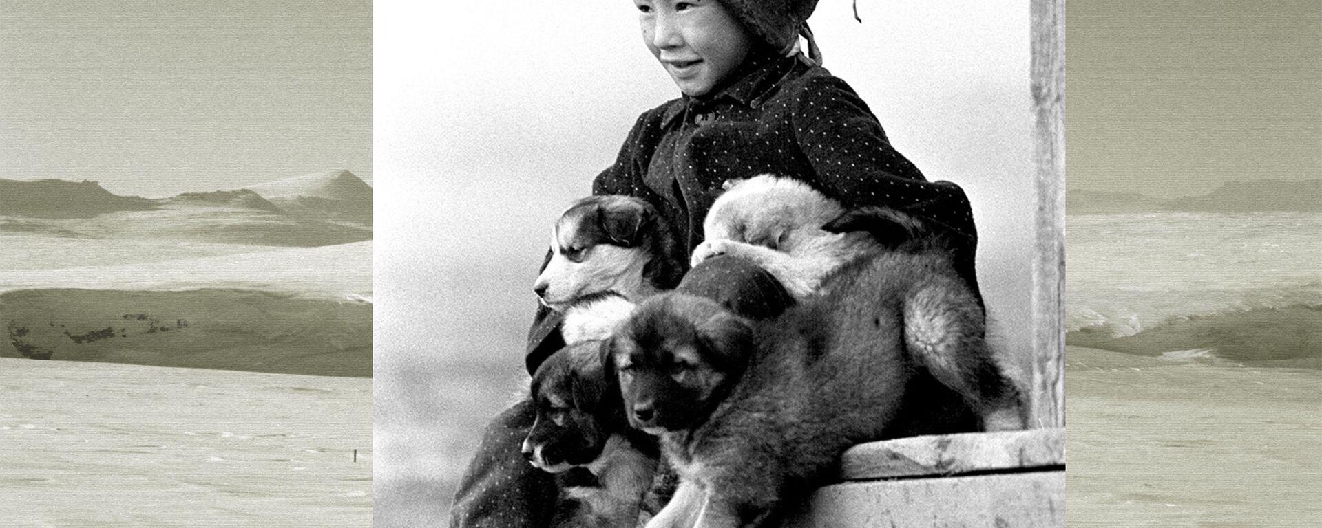Serioja Tymkuvsc, uno degli ultimi abitanti dell'isola di Wrangel, foto del 1966 - Sputnik Italia, 1920, 23.03.2019