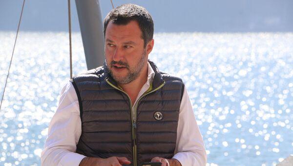 Il ministro dell'Interno e vicepremier Matteo Salvini - Sputnik Italia
