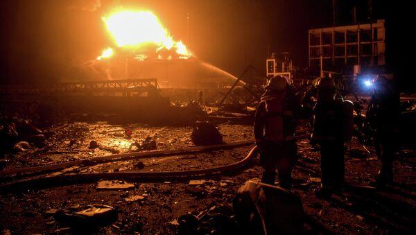 L'esplosione in un impianto chimico nella provincia cinese di Jiangsu - Sputnik Italia