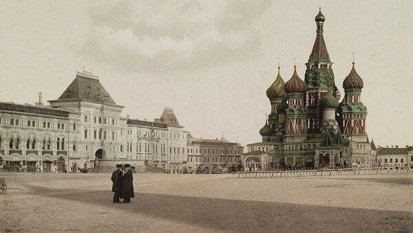 La Piazza Rossa di Mosca in una delle prime foto a colori della Russia - Sputnik Italia