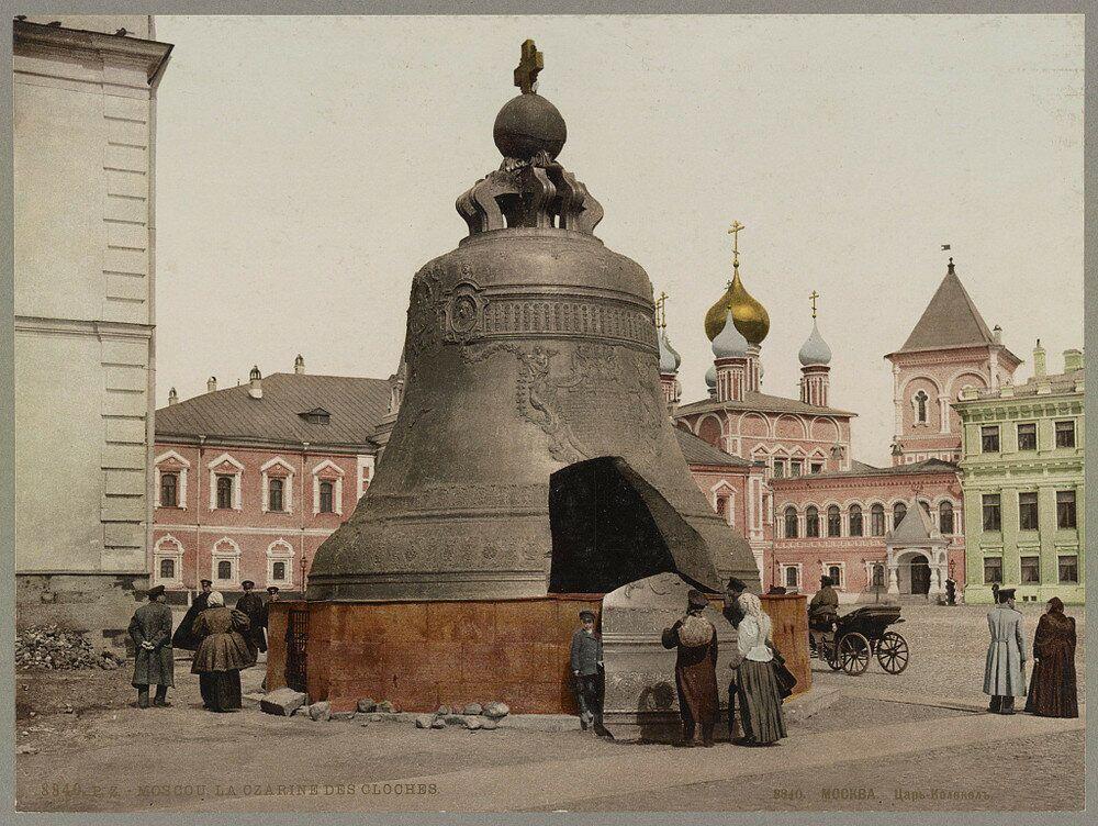La Zarina delle Campane, nel Cremlino di Mosca