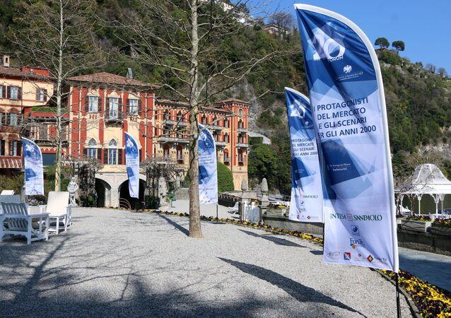 Il Forum Confcommercio in Villa d'Este a Cernobbio