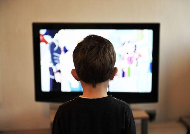 Media e bambini - immagine metaforica
