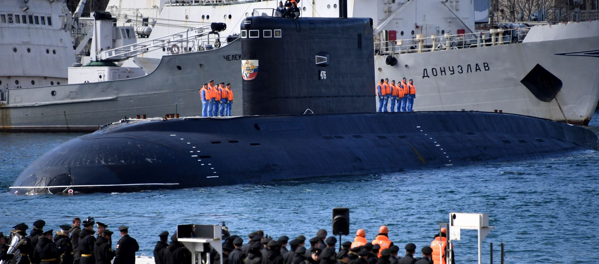 Il sottomarino Velikij Novgorod - Sputnik Italia, 1920, 03.04.2021