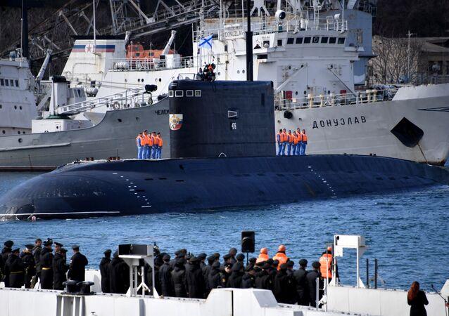 Il sottomarino Velikij Novgorod