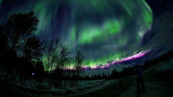 L'aurora polare, regione di Murmansk - Sputnik Italia