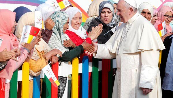 Papa Francesco in Marocco - Sputnik Italia