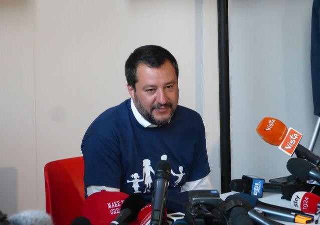 Matteo Salvini al Congresso Mondiale della Famiglia a Verona