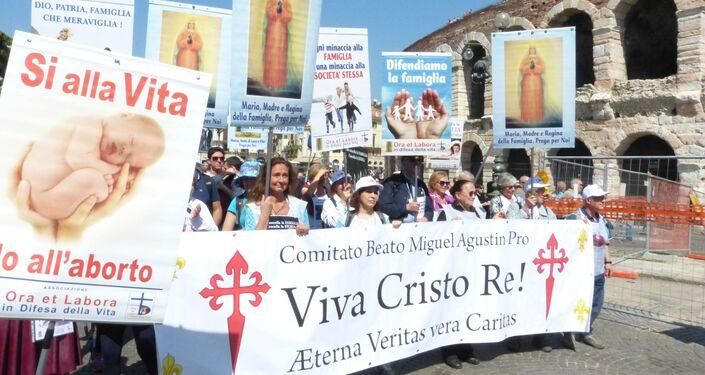 Congresso Mondiale della Famiglia Verona - Marcia