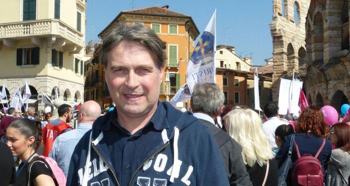 Dimitri Coin al Congresso Mondiale della Famiglia Verona