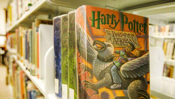 I libri di Harry Potter della scrittrice J.K Rowling - Sputnik Italia