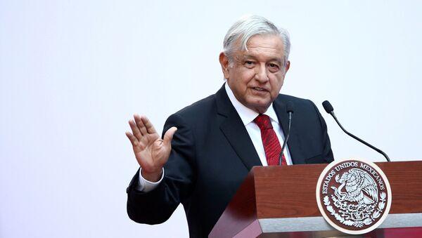 Andres Manuel Lopez Obrador - Sputnik Italia