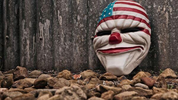 Maschera USA - Sputnik Italia