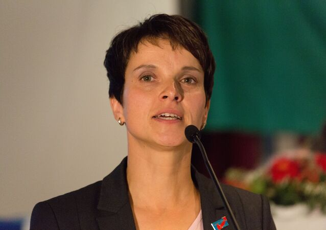 "Frauke Petry, il capo del partito ""Alternativa per la Germania"""