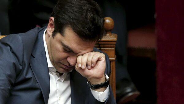 """Il premier Alexis Tsipras ha deciso di """"procedere il più rapidamente possibile al rimpasto di governo entro pochissimi giorni - Sputnik Italia"""