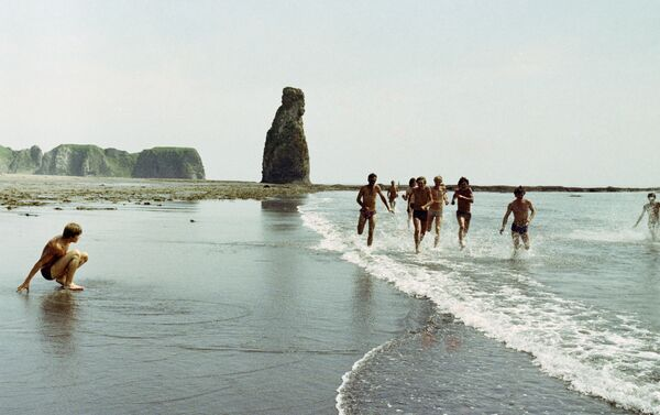Isola Kunashir, 1985 - costa sud dirimpettaia al Giappone - Sputnik Italia