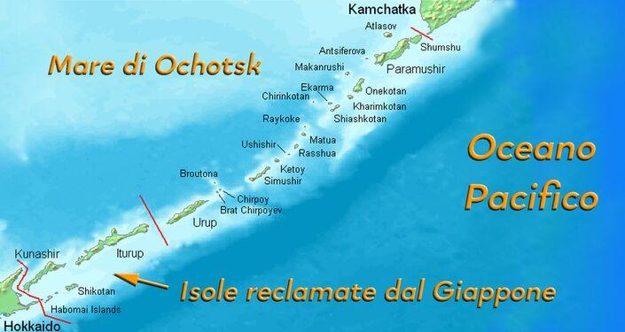 Curili, isole contese dal Giappone